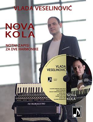 NOVA KOLA za harmoniku - notni zapisi i CD