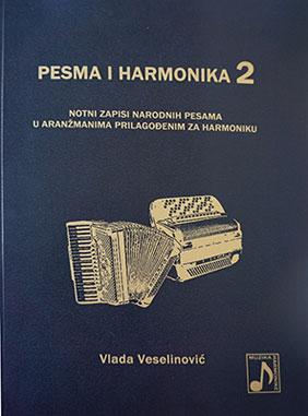 Knjiga notnih zapisa Pesma i harmonika 2