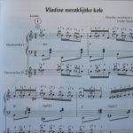 Nova kola - note za harmoniku