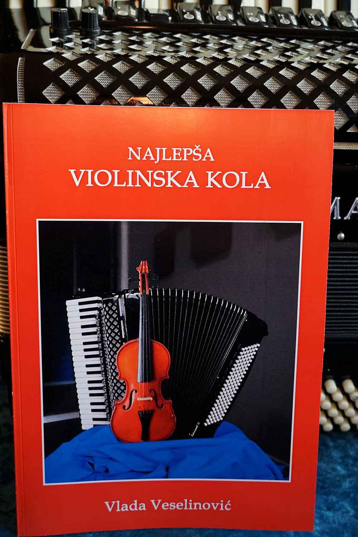 Najlepsa violinska kola - notni zapisi