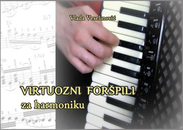 VIRTUOZNI FORSPILI za harmoniku - notna zbirka